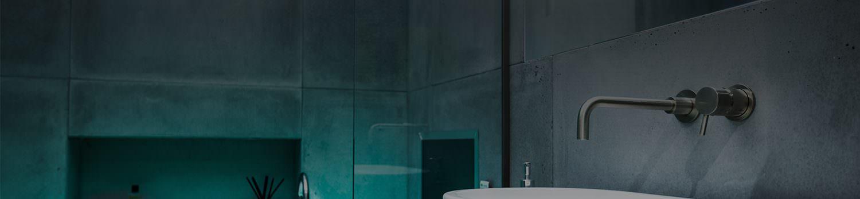 vorbild-architecture concrete bathroom tiles
