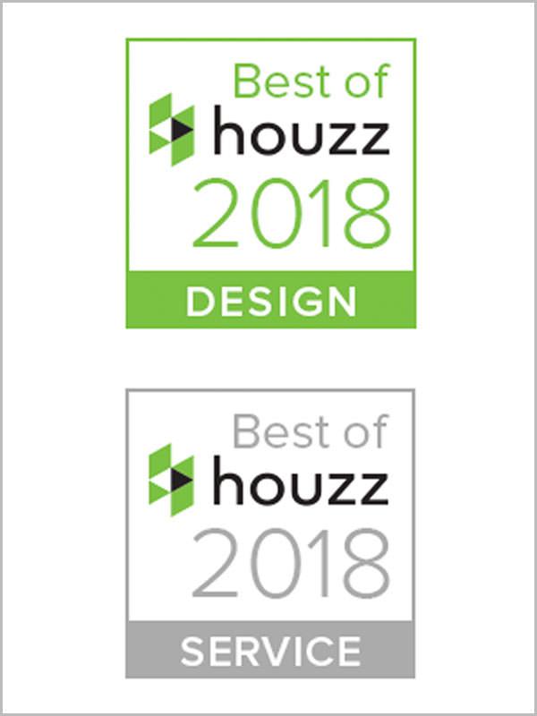 Meilleur de Houzz 2018 Design & Service