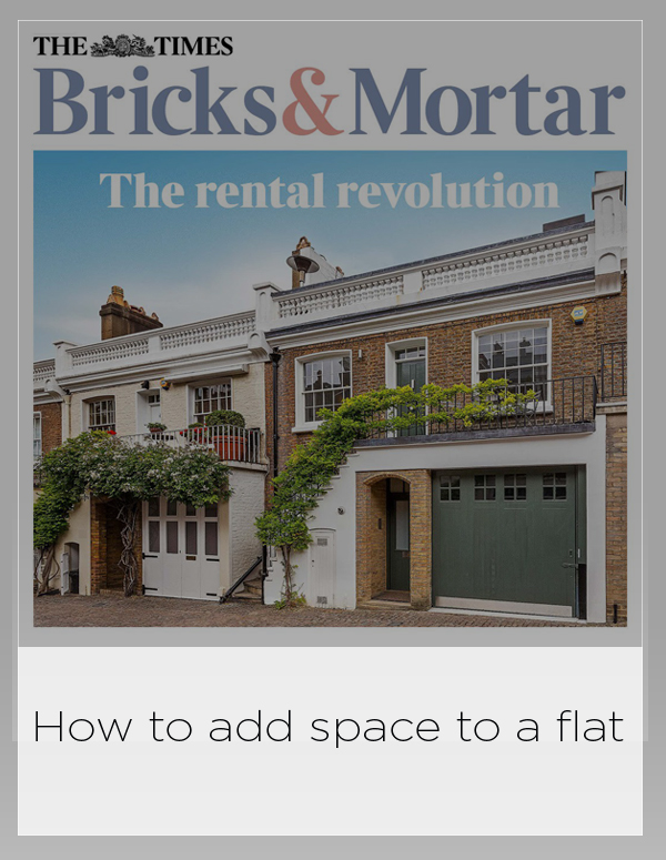 The Times Bricks and Mortar 27 septembre 2018: Comment ajouter de l'espace à un appartement
