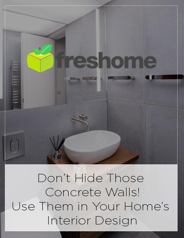 Freshome: Ne cachez pas ces murs de béton! Utilisez-les dans la décoration de votre maison