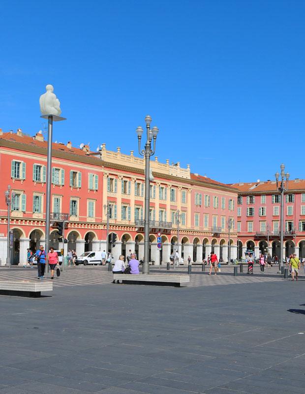 Architecture néoclassique à Nice, France